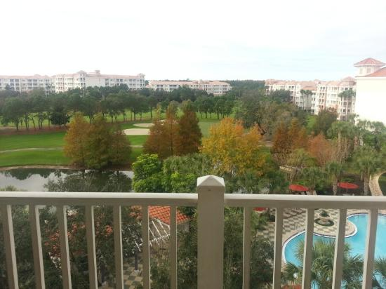 Marriott's Grande Vista: The view from room 1625