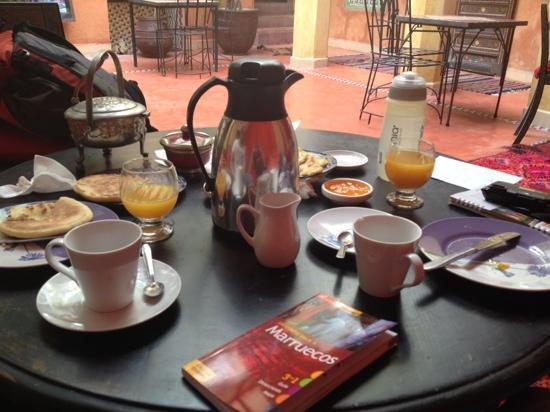 Riad Dar Nael: desayuno