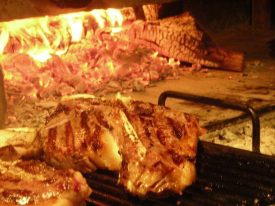 Ristorante Alfredo alla Scaletta: Carne alla Brace