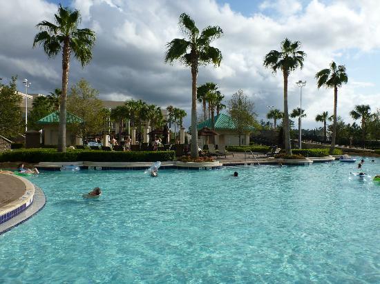 Hilton Orlando Bonnet Creek: View From The Pool Bar