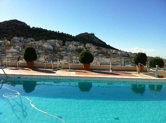 Athens Zafolia Hotel : piscine de l'hotel