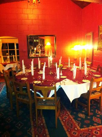 Navan, Ireland: King size round table for 14 people