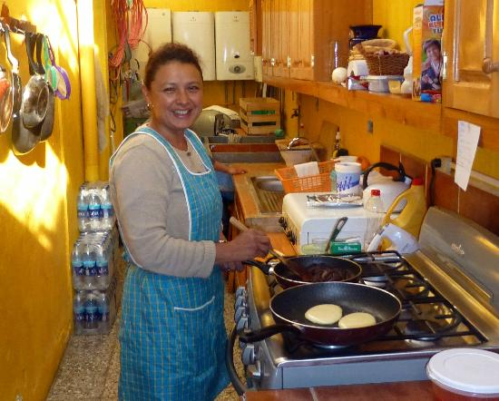 Posada de los Volcanes: The breakfasts are fantastic...so much more than