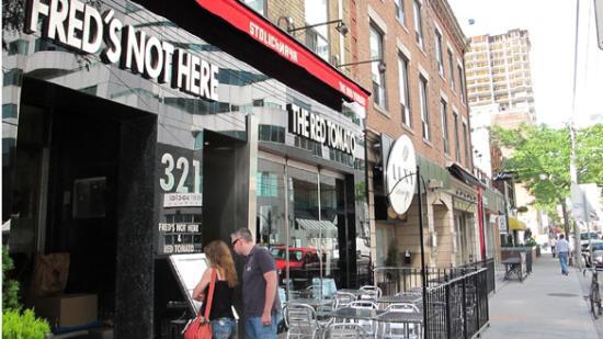 Fred's Not Here Restaurant