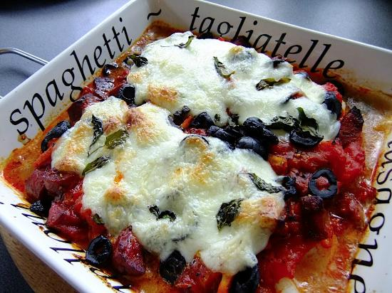 Scorpion Mediterranean Bar and Grill: Eggplant Parma
