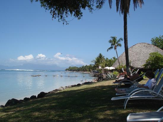 Le Meridien Tahiti: Just relaxing