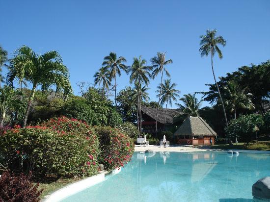 Le Meridien Tahiti: Pool area