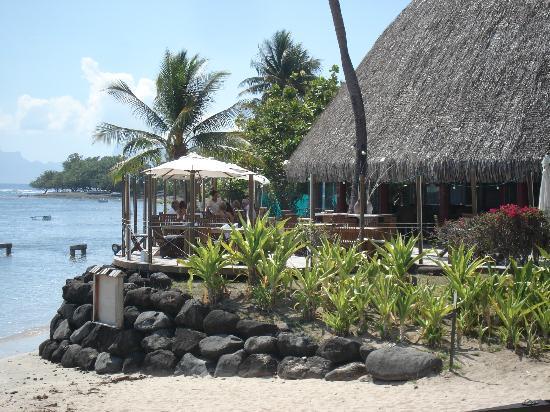 Le Meridien Tahiti: Beach restaurant