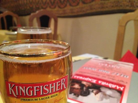 Madras Express: love a pint with a good curry