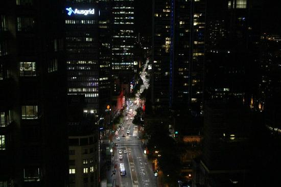 Hilton Sydney: View from Room night