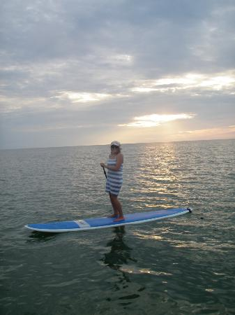 SUP Englewood : Sunset Paddle at Stump Pass State Park in Englewood, FL.