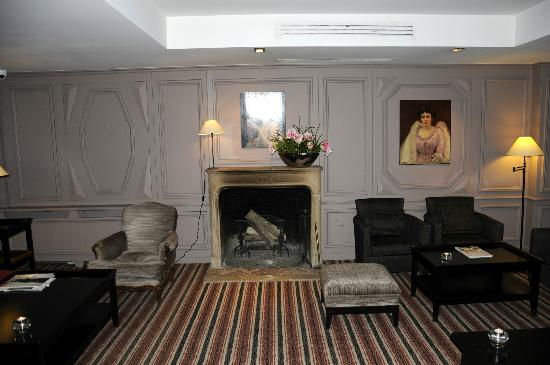 Relais Christine: Hotel Lounge/Gathering Room
