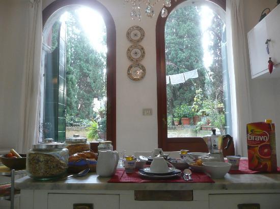 B&B Casa Baseggio: breakfast