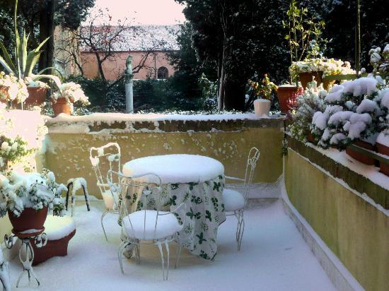B&B Casa Baseggio: terrace
