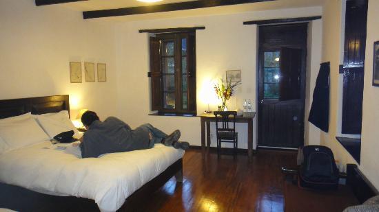 El Albergue Ollantaytambo: Habitación