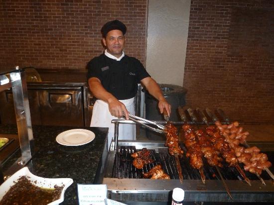 Ocean Blue & Sand: BBQ chef