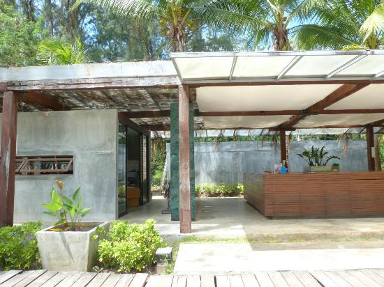 Costa Lanta: entree hotel