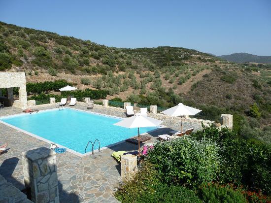 Hotel Perivoli: pool area