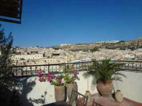 Dar Sienna: here's my view from the rooftop terrace