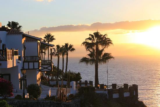Hotel Jardin Tecina: sunrise