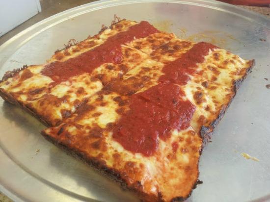 Pizza Squared: 8 Square Cheese