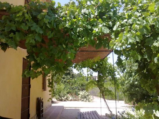 Finca El Campillo: casa Joselito entrada