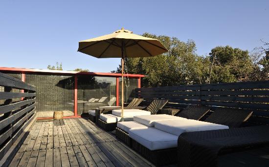 Hotel Cote Cour Beijing: rooftop