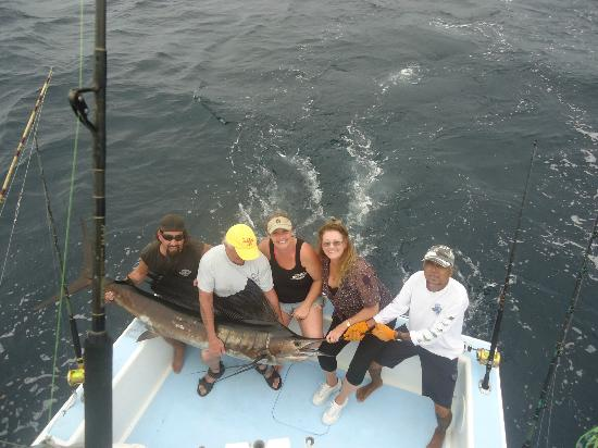 Hotel Presidente: Fishing off Quepos\ Blue Fin II