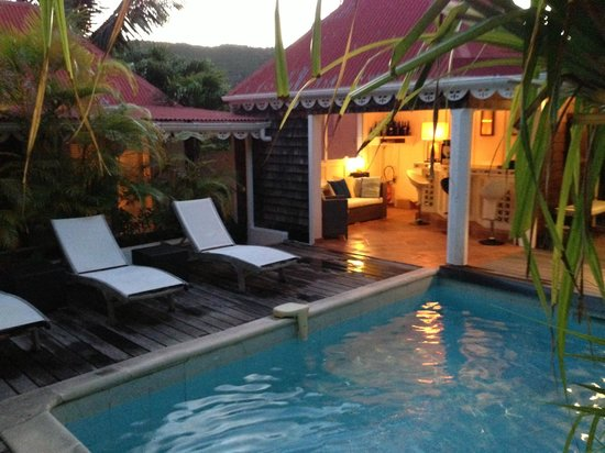 Salines Garden Cottages: La piscine