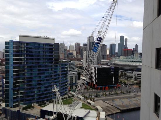 The Sebel Residences Melbourne Docklands: bedroom window