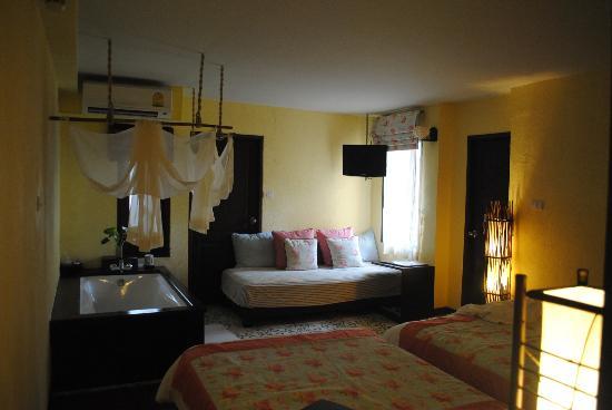 Phra Nang Inn: habitacion economica