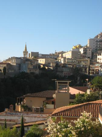 Andromaco Palace Hotel : the town from our balcony