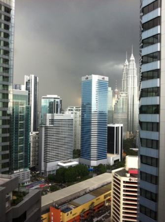 DoubleTree by Hilton Hotel Kuala Lumpur: view from our room