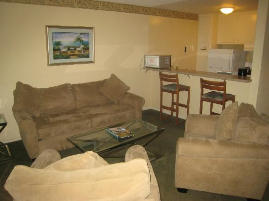 Hollywood Orchid Suites: Spacious area to relax