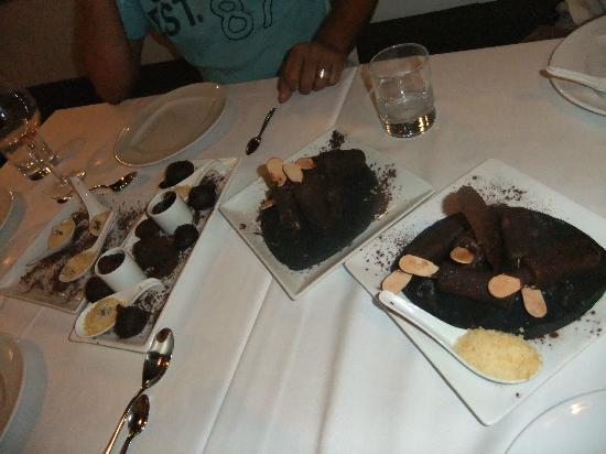 L'Estaminet: dessert au chocolat