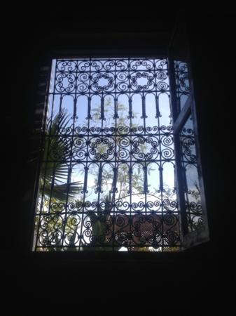 Riad Anya: from our bedroom window
