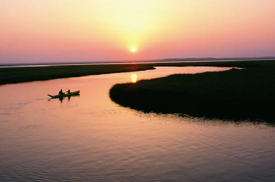 Amelia Island, FL: Take a sunset kayak along the intracoastal marshes