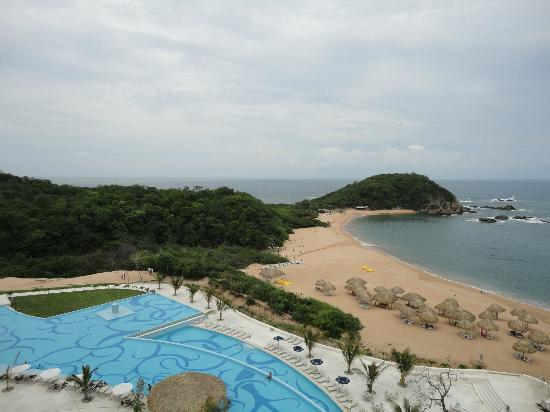 Secrets Huatulco Resort & Spa: desde el elevador