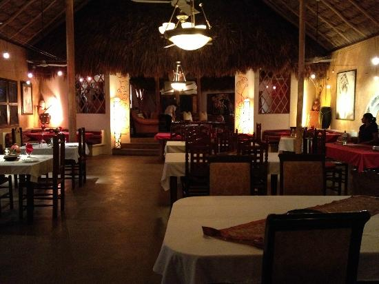 Matachica Resort & Spa: inside Mambo. DELICIOUS food