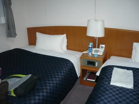 Matsue Urban Hotel: beds