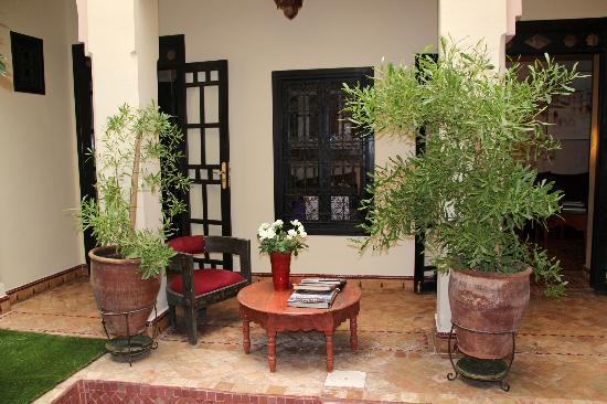 Dar Silsila: Courtyard