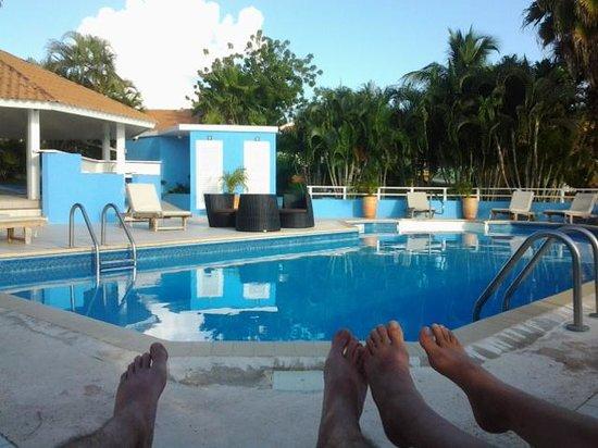 Bon Bini Seaside Resort: zwembad, niet groot maar wel mooi