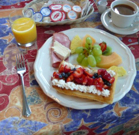 Auberge Chez Ignace: What a breakfast.