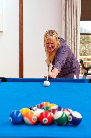 Billiards at Vivonne Bay Lodge