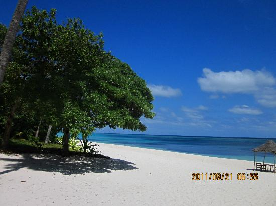 Vatulele Island Resort: 蓝天白云