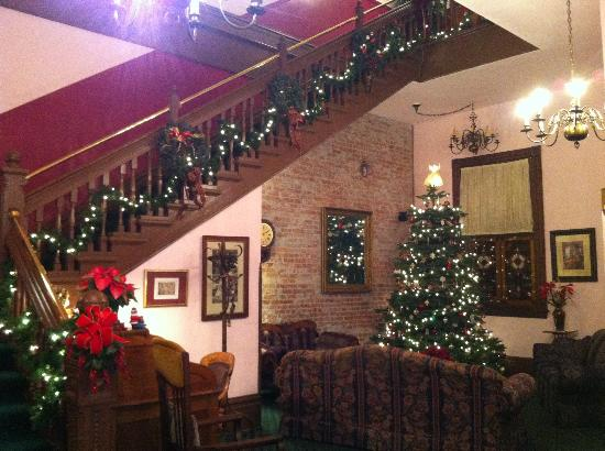 Palace Hotel Port Townsend: Christmas time