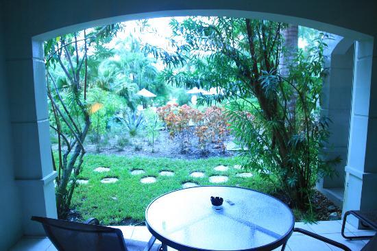 Royal West Indies Resort : Botanical View patio (DBFpro photo)