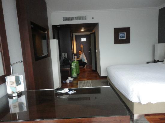โรงแรมพูลแมน กรุงเทพ จี: super espaciosa