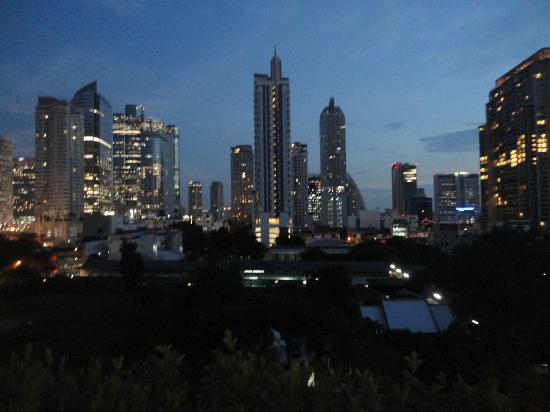 Pullman Bangkok Hotel G : Vista desde la pileta 5to piso