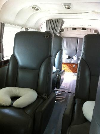 Soneva Kiri Thailand: Arrival in style: Cessna interior